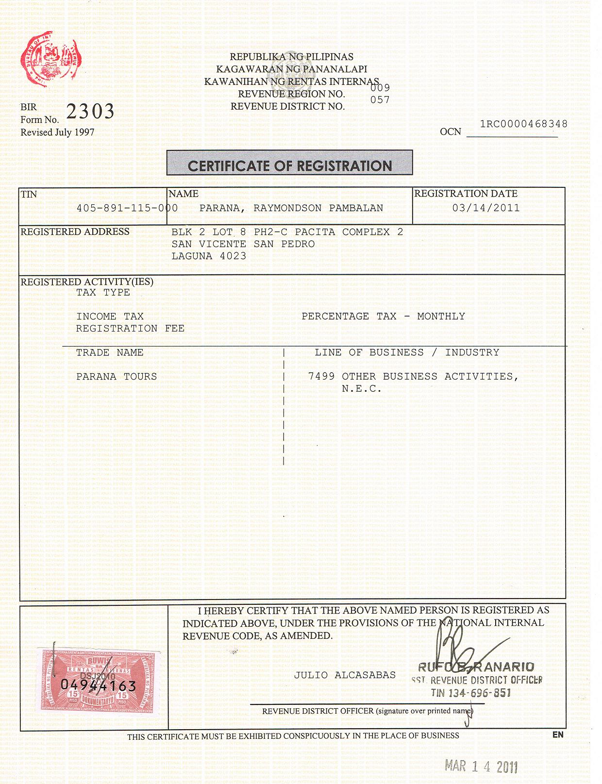 Chowking certificate of employment tiredriveeasy chowking certificate of employment yelopaper Choice Image
