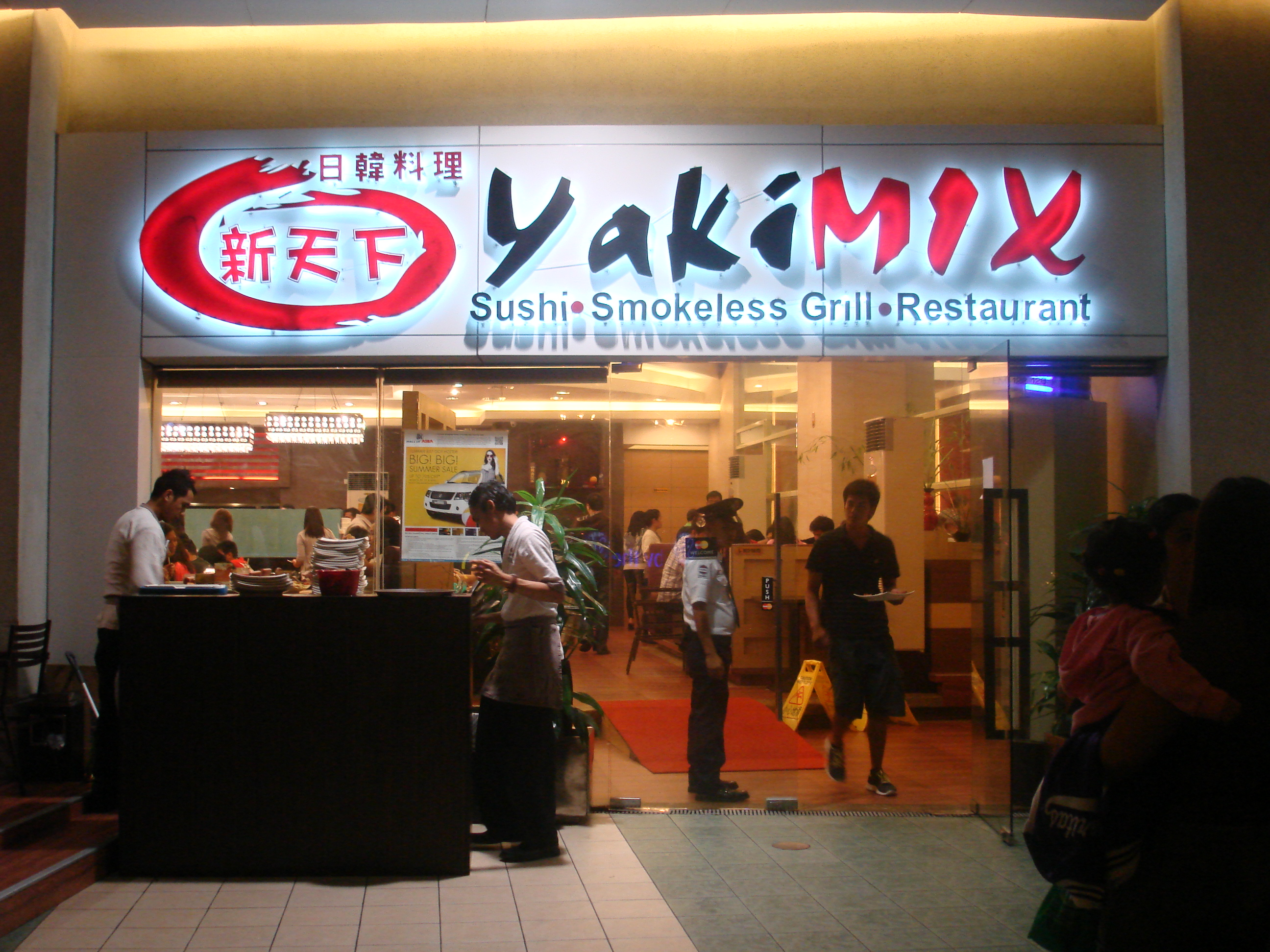 yakimix eat all you can moa