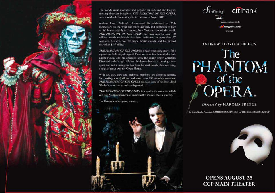 history of the phantom of the opera essay Phantom of the opera essay phantom of the opera oral presentation by: amy heitz the phantom of the opera started off as a book written by gaston leroux this book was published in 1911 and was leroux only claim to fame the book was based off strange appearances and hauntings said to be happening at the paris opera house in the 19th.