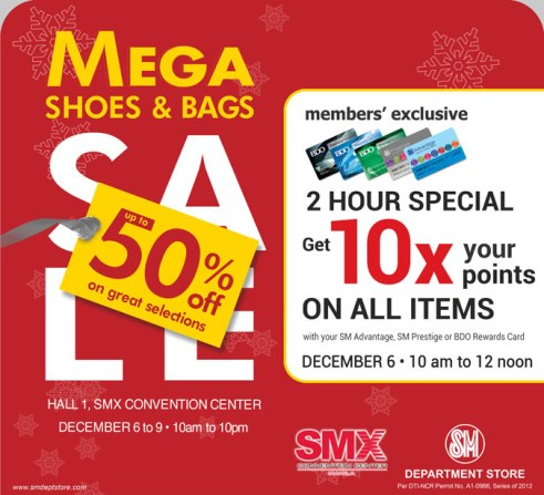 Shoes and Bags Mega Sale
