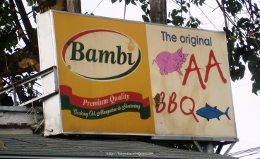 AA BBQ Sign