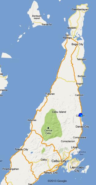 After 1.5 hrs to Bantayan - Carmen