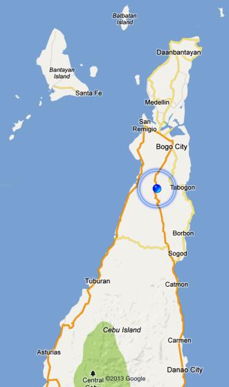 After 2.5 hrs to Bantayan - Tabogon