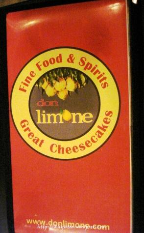 Don Limone's Menu