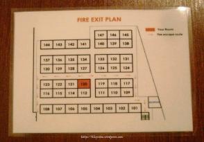 escario central fire exit plan