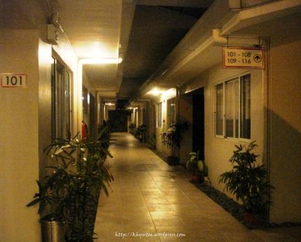 escario central hallway