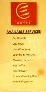 escario central hotel services