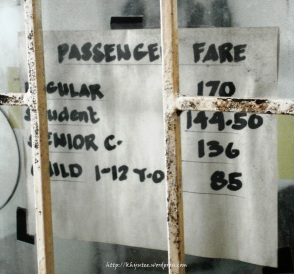 Ferry Rates to Bantayan