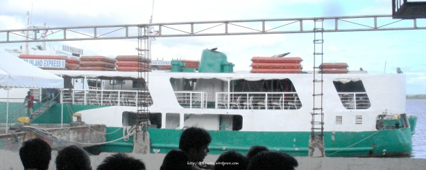Ferry to Bantayan