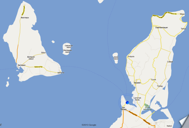 Hagnaya Port to Bantanyan Island