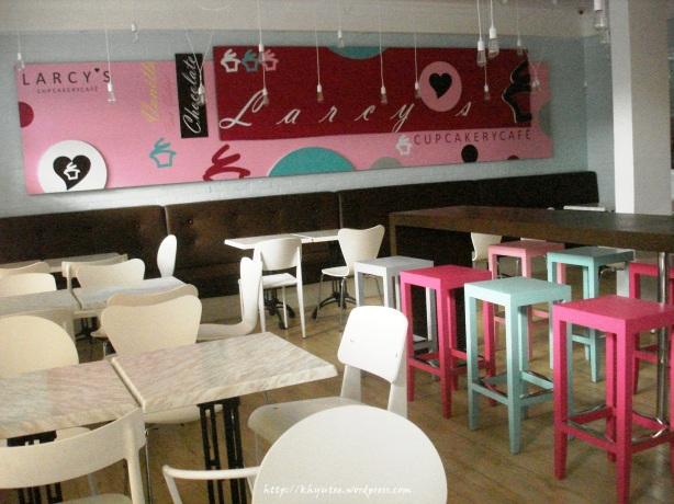 Inside Larcy's