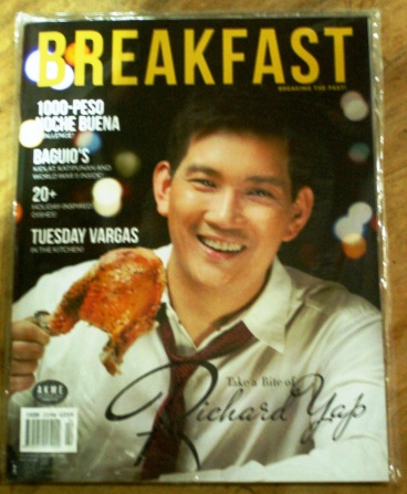 Breakfast Magazine Richard Yap