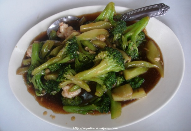 Broccoli with Beef