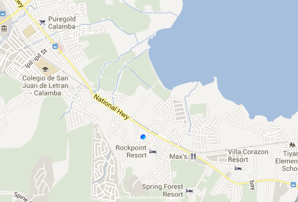 Google Maps Villa Sofia Private Resort Pansol Laguna