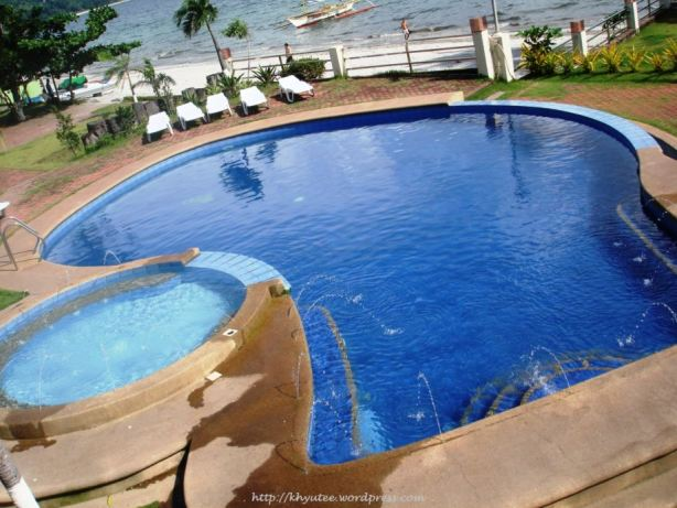 Subic Grand Seas Resort Pool Top View