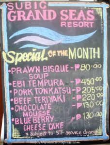 Subic Grand Seas Resort Special of the Month