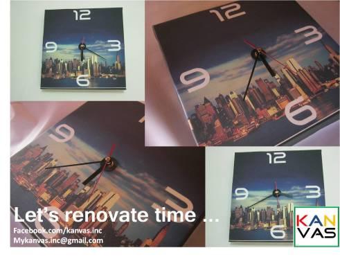 Kanvas clock