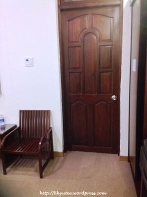 Door going to the Balcony