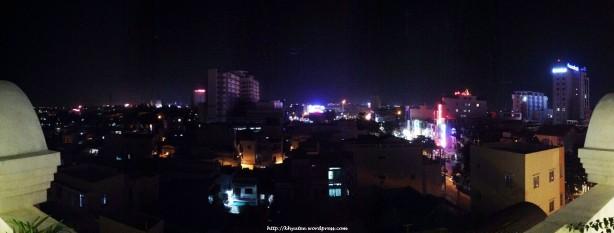 Panoramic View - Balcony Night View