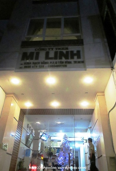 Mi Linh Hotel Vietnam Night