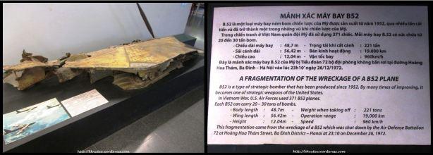 Fragments of B52 Plane