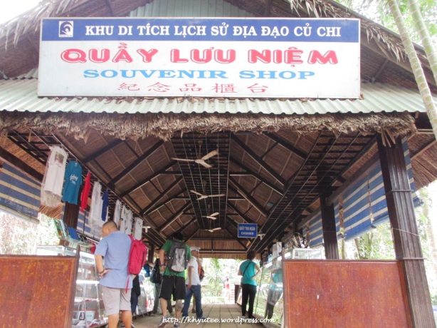 Souvenir Shop at Cu Chi Tunnel