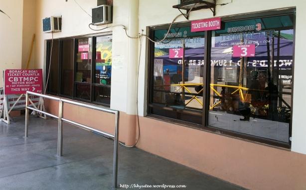 Boracay Jetty Port Payment Window