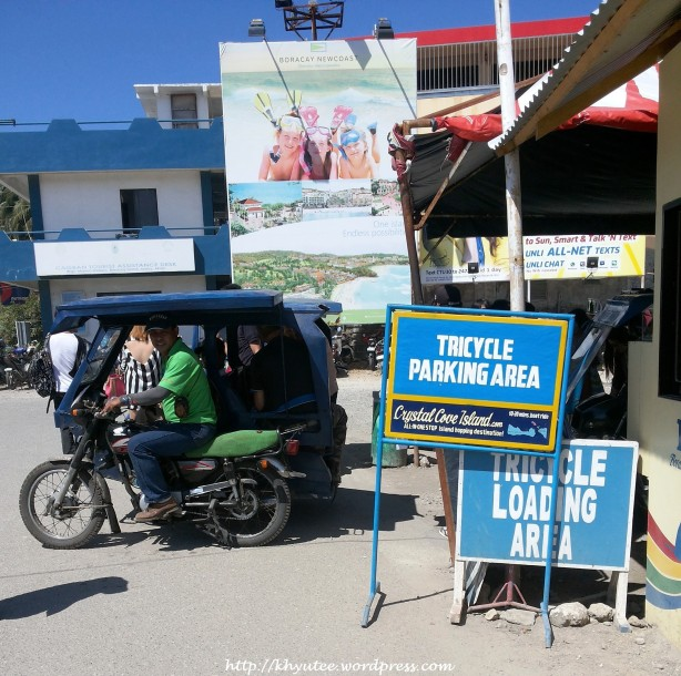 Boracay Tricycle Stand